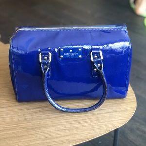 Kate Spade handbag - bright blue, great condition